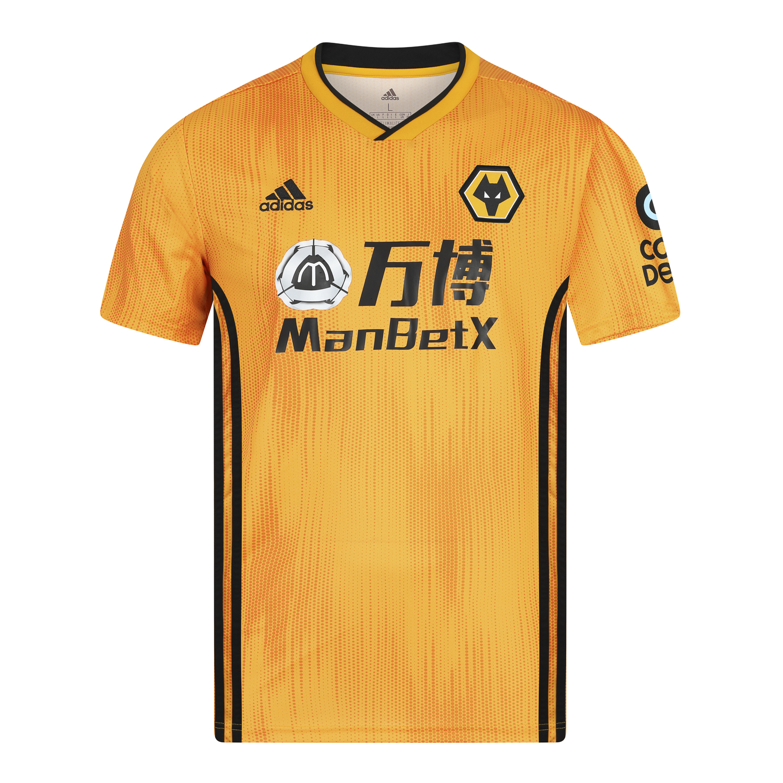 Wolverhampton Wanderers 2019-20 Home Shirt