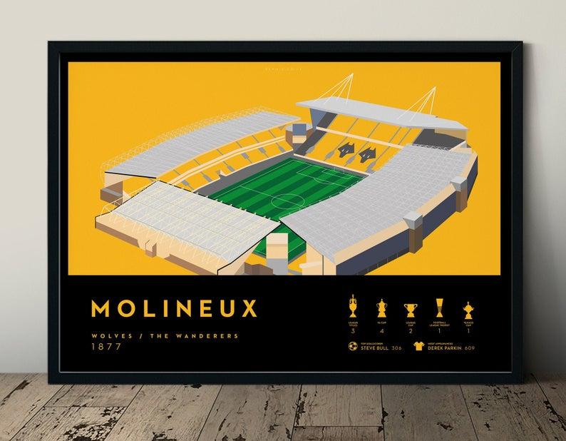 Molineux Stadium Art Print