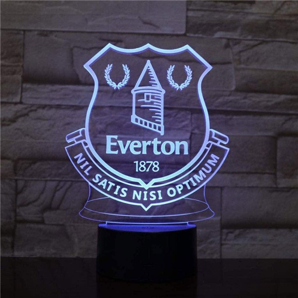 Everton 3D Led Desk Lamp
