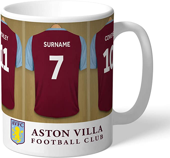 Official Personalised Aston Villa FC Legends Mug