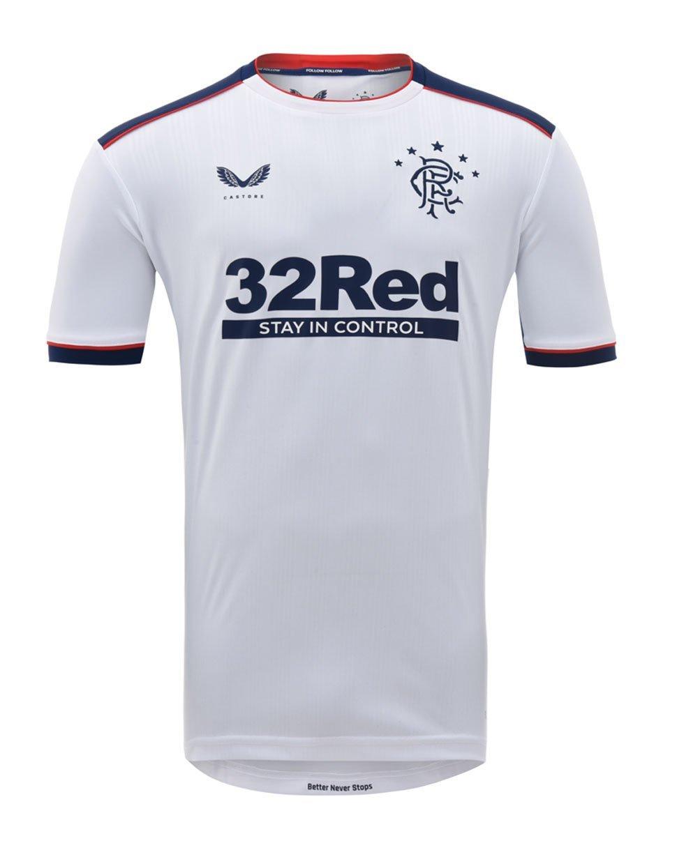 Rangers Away Shirt 2020-21