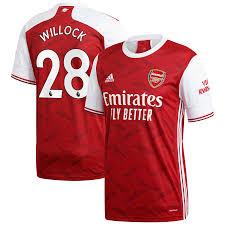 Arsenal 2020/21 Home Shirt
