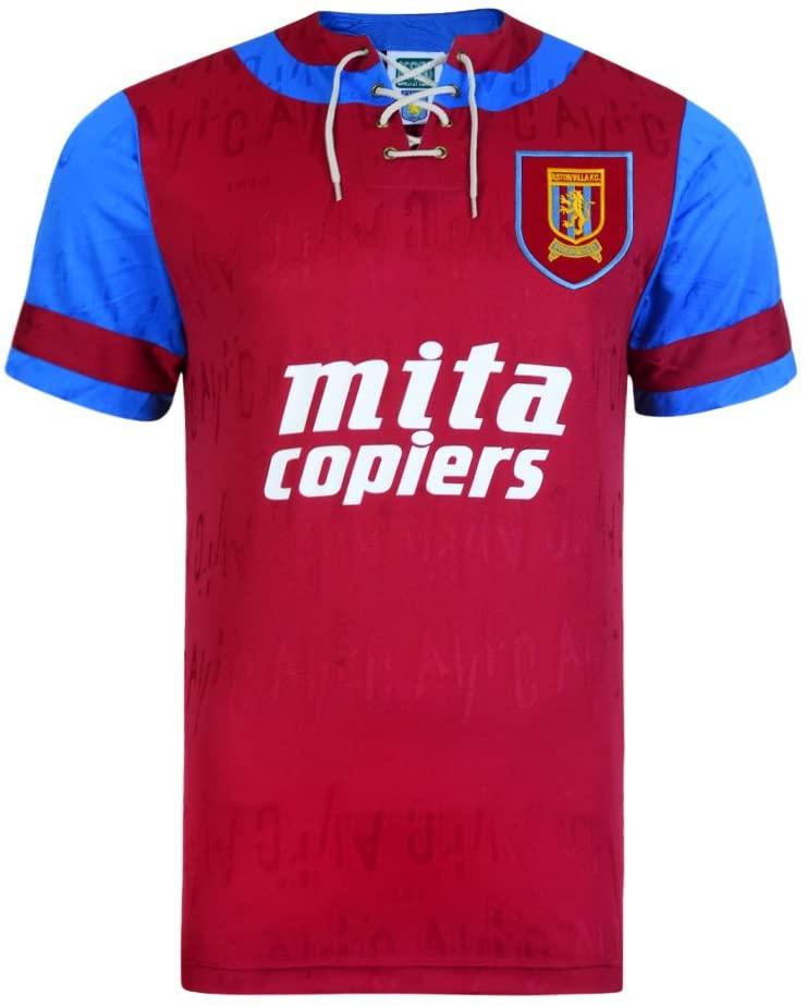 Aston Villa 1992 Home Shirt