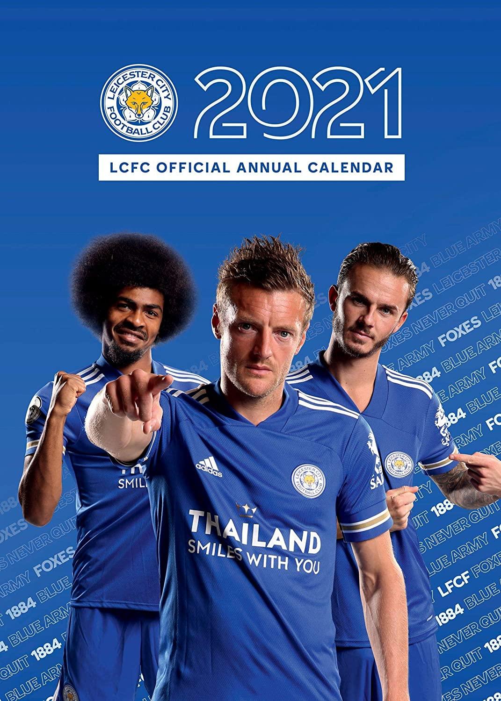 Official Leicester City 2021 Annual Calendar