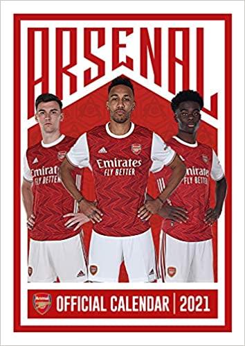 Official Arsenal 2021 Calendar - A3 Wall Format
