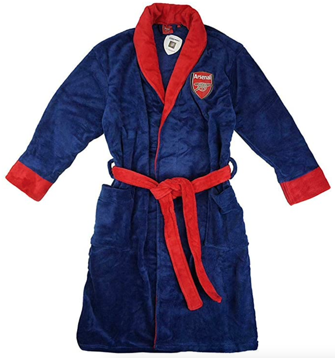 Official Arsenal Football Club Fleece Dressing Gown