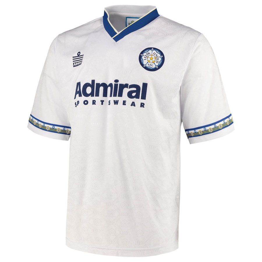 Leeds United 1993 Admiral Shirt